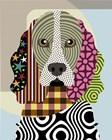 Cocker Spaniel Dog by Lanre Adefioye art print