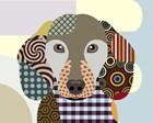 Dachshund by Lanre Adefioye art print