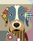 German Wirehaired Pointer by Lanre Adefioye art print