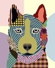 Siberian Husky by Lanre Adefioye art print