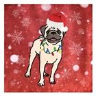 Pug Cheer by Marcus Prime art print