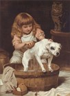 Order of the Bath by Charles Burton Barber art print