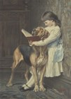 Naughty Boy! by Charles Burton Barber art print