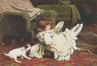 Time to Play by Charles Burton Barber art print