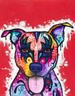 Kiss Dog by Dean Russo art print