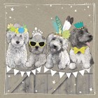 Fancypants Wacky Dogs III by Hammond Gower art print