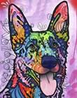 Shepherd Love by Dean Russo art print